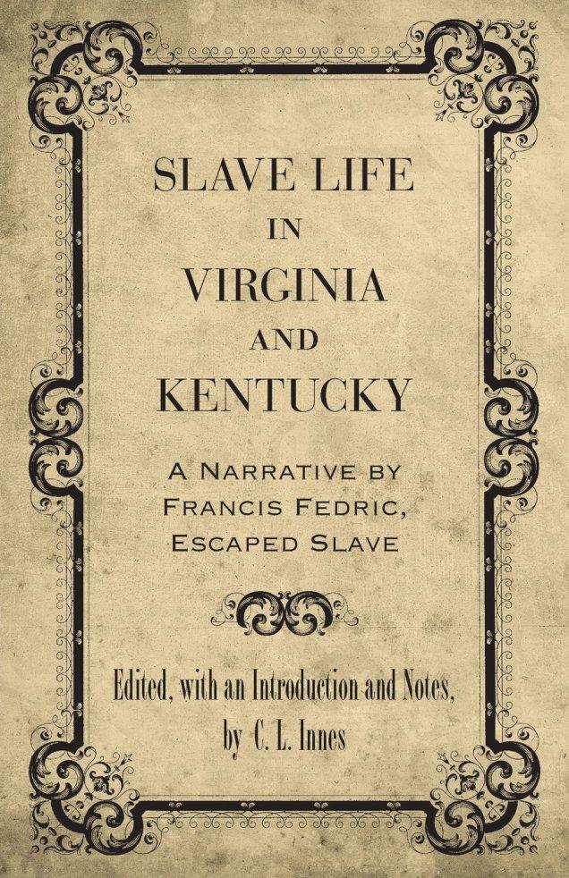 Francis Fedric Book